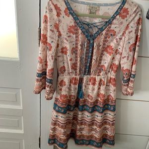 Floral Laced Dress